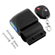 Lock Bicycle Wireless Remote Control Vibration Alarm Anti-theft Safety NEW