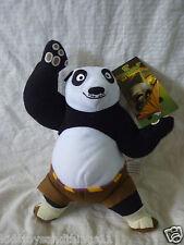 KUNG FU PANDA 3 - Licensed PO KICKING Plush Soft Toy Doll BNWT 28cm LARGE SIZE