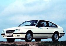 Opel Monza Press Photo CD Collection 1978-1986 inc GS/E, 3.0E