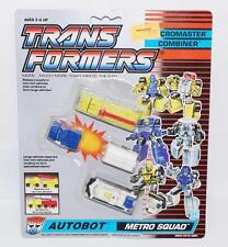 Metro Squad Micromaster MOC Vintage Hasbro 1990 G1 Transformers Action Figure