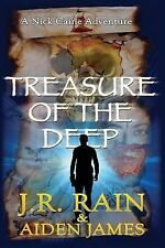 Treasure of the Deep by J. R. Rain and Aiden James (2014, Paperback)