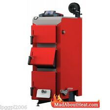 DWBi 15kw Fan Assisted Wood Boiler, log burner, peat, coal, pellets biomass