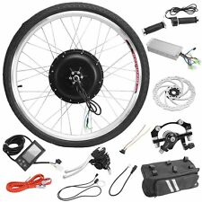 "1000W 48V Electric Bicycle/Bike 26"" Rear Wheel Conversion Kit Motor Hub E-Bike"