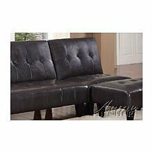 Acme Furniture Conrad Espresso Bycast Pu Adjustable Tufted Chair by Furniture