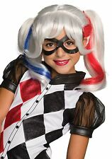 Child DC Superhero Girls Harley Quinn Wig