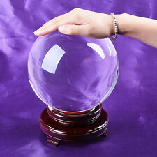 LS 180mm Big Crystal Ball Sphere Healing Crystals Photo Props Venue Decorations
