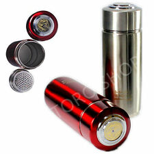 Healthy Energy Filter Quantum Flask Alkaline Water Ionizer Bottle RED Colour