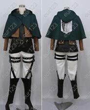 new japan anime Attack on Titan Reiner Braun cosplay costume any size custom