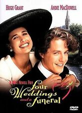 Four Weddings and a Funeral 1997 by Michael Coulter; Jon Gregory; Duncan Kenwort