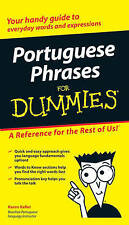 Portuguese Phrases For Dummies Keller John Wiley Sons Ltd PB / 9780470037508