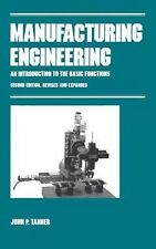 Manufacturing Engineering (Manufacturing, Engineering and Materials Pr-ExLibrary