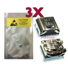 3 X New Micro USB Charging Sync Port Samsung Galaxy Tab E T560 T560NU T561 USA