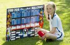 Mail on Sunday EURO 2016 Double Sided wall chart BRAND NEW