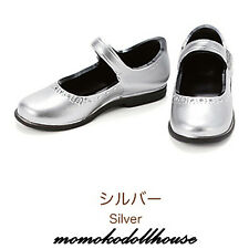 CCS Momoko Blythe doll 27cm Obitsu Pullip FR Classical Strap shoes Silver