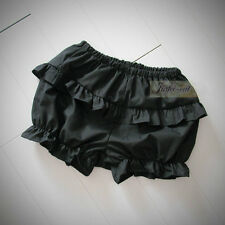 Lady Lolita Cosplay Ruffle Shorts Bloomers Knicker Cotton Underwear Safety Pants