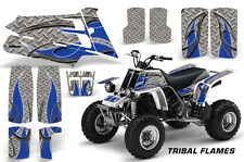 AMR Racing Yamaha Banshee 350 Decal Graphic Kit ATV Quad Wrap  87-05 TRIBAL BLUE