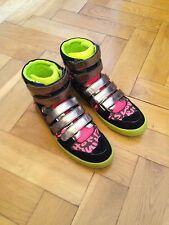 LOUIS VUITTON Graffiti Stephen Sprouse Sneaker Neon Pink Boot Schuhe Gr:46 #23