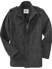 OLD NAVY MENS WINTER WOOL MILITARY COAT JACKET $99.00 S M M TALL L XL XXL  XXXL