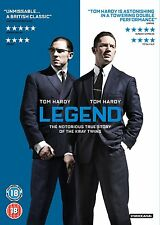 Legend (DVD) Tom Hardy New