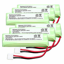 6PCS 2.4V 500mAh NI-MH Rechargeable Battery for CPH-518D/BT-28443/BT-18443 Kit