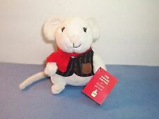 STARBUCK'S COFFEE - THE MOUSE WRITER - HUXLEY - PLUSH TOY - 2010 - NWT EX.