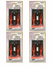 4 Orange County Choppers Single Switch Wall Plates New in Package Free Shipping!