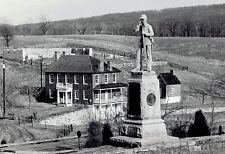 1990 Original AP Photo Civil War statue Sherrick Antietam National Battlefield