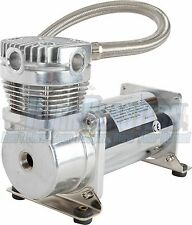 Viair 420C Chrome Heavyweight Air Compressor for Air Suspension & Train Horns