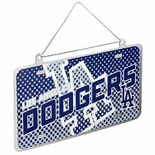 Los Angeles Dodgers MLB Metal License Plate Christmas Ornament by FC 236042