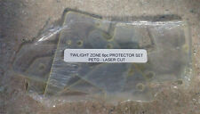 Twilight Zone 6 Piece Pinball Machine Plastic Protector Set PETG