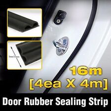 Car Door Auto Noise Rubber Seal Strip 4ea B type For KIA 2008-2012 2013 Soul