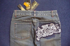 "BNWT WOMENS FADED HALO COOPER JEANS 28"" X 33""   * RARE*  SIZE SMALL TAGGED £45"