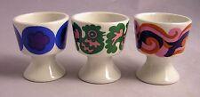1970s Mid-Century Modern Arabia Finland 3~Laura Egg Cups Kaarina Aho