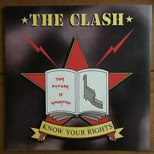 """The Clash - Know Your Rights  7"""" Vinyl"""
