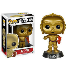 Star Wars Force Awakens POP C-3PO Bobble Head Vinyl Figure NEW Toys Collectibles
