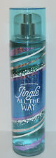 NEW BATH & BODY WORKS JINGLE ALL THE WAY FINE FRAGRANCE MIST SPRAY PERFUME 8 OZ