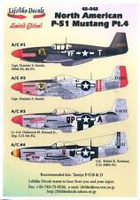 Lifelike Decals 1/48 NORTH AMERICAN P-51 MUSTANG Fighter Part 4