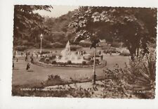 A Glimpse Of The Gardens Bournemouth 1961 RP Postcard 900a