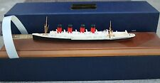 """MAURETANIA"" VINTAGE NAVAL MINIATURE SERIES SHIPS IN ACCURATE SCALE IN METAL"