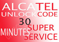 ALCATEL PERMANENT NETWORK UNLOCK CODE/PIN For 510iZ