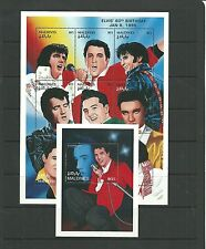 Maldives 1995 60th B.Day of Elvis Presley SG2337a + MS2346  mnh.