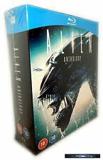 Alien Anthology Edition 1,2,3,4 [Blu-Ray] Box-Set, Resurrection, Deutsch(er) Ton