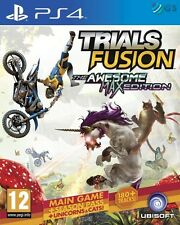 Trials Fusion The Awesome Max Edition PS4 +Season Pass * NEW SEALED PAL *
