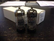 M8162 CV4024 12AT7WA MULLARD NOS MATCHED PAIR VALVE/TUBE