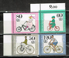Germany Old and Modern Cycling set 1985 MNH