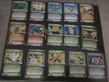 DRAGON-BALL Z GOKU Cella schede CCG VEGETA Android SAGA Vicino Set Completo