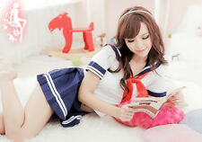 Sexy Women Japan Adult School Girl Cosplay Costume Fancy Dress Uniform