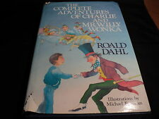 The Complete Adventures of Charlie and Mr Willy Wonka [Hardcover] 2nd impression