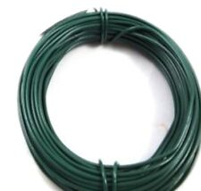 30m x 1.2mm ROLL OF PVC COATED GREEN GARDEN WIRE