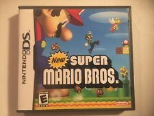 New Super Mario Bros. (Nintendo DS, 2006) Complete CIB Excellent Fast Ship Real!